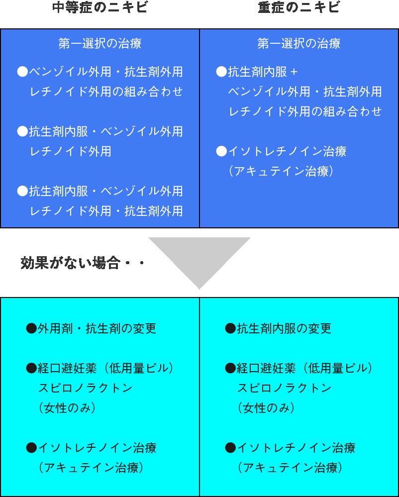 アメリカニキビ治療ガイドライン日本語訳