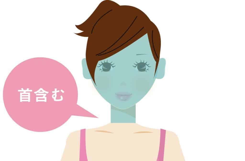 医療脱毛の顔の範囲