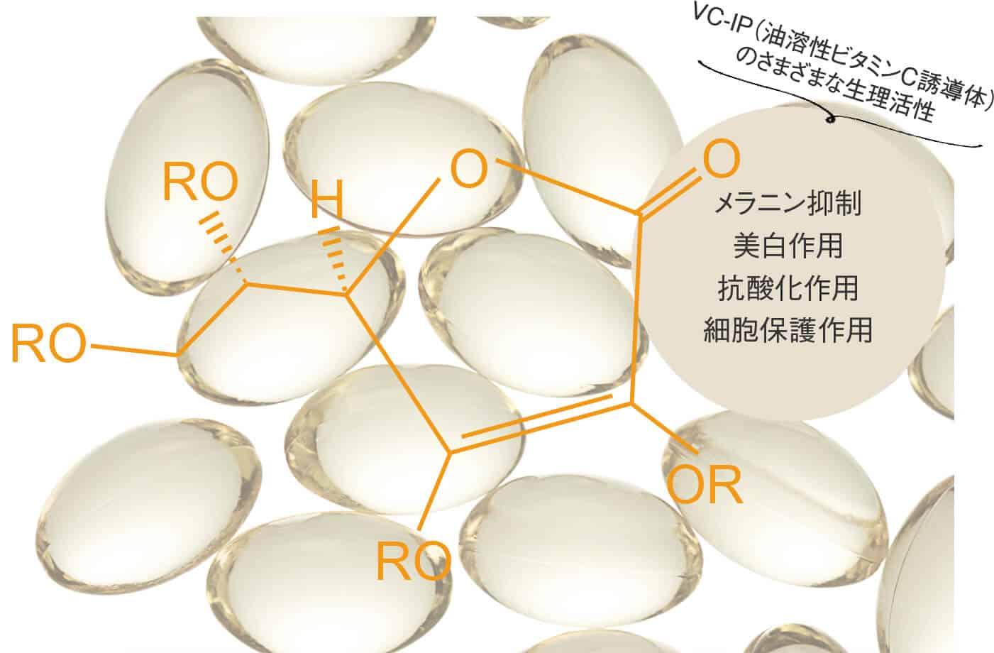 油溶性ビタミンC誘導体